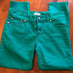 Free People Green Jeans. Size 30.